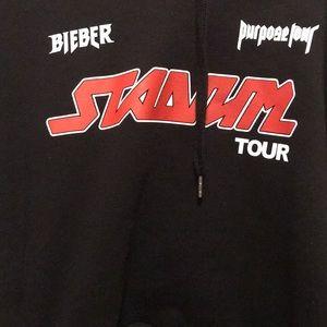 Black Justin Bieber Tour Merch